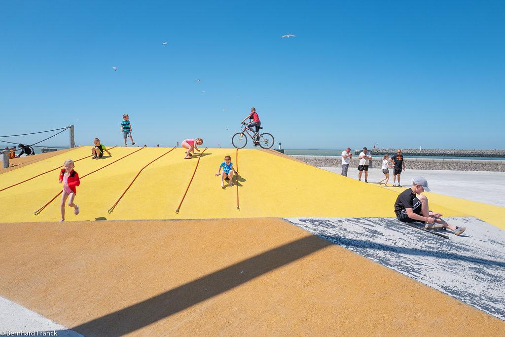 Calais plage - activités ludiques